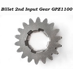 Billet 2nd Input Gear GPZ1100