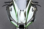 Mirror Block Off Plate Set Black Ninja H2 (15-19)