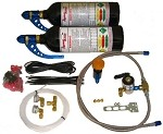 Dynotune Suzuki GSXR Nitrous EFI System - Twin Bottle kit
