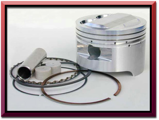 SUZ (GSXR1100) (89-92) 83MM PISTON KIT- Turbo