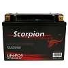 Scorpion 525 CCA LiFePo4 Extreme High Output Battery Only 3.15 Pounds!
