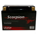 Scorpion Stinger 12v 507 CCA LiFePo4 Extreme High Output Battery  2.75 Pounds!