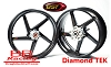 BST Diamond TEK 16 x 3.5 R+ Series Rear Wheel - Harley-Davidson Touring Models (00-08)