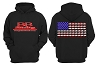 BB Racing Patriot Dragbike Flag Hoodie