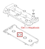 Hayabusa Spark Plug Hole Gasket - GASKET, CYL HEAD COVER NO.2