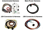 MPS Wiring Harness for Holley EFI ECU